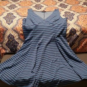 Peter Some size 16 striped summer dress